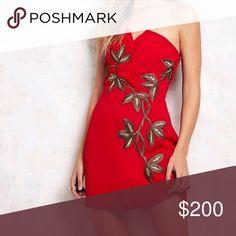 New! Red mini dress free people Sexy. Amazing like a new fits small and medium Free People Dresses