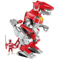 Fisher-Price Imaginext Power Rangers Red Ranger And T-Rex Zord - Most Wanted Christmas Toys