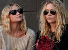 Mary-Kate and Ashley Olsen stylin' sunnies