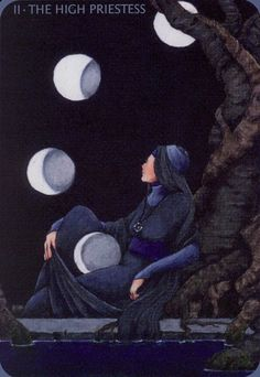 Anna K HIgh Priestess #priestess #high priestess