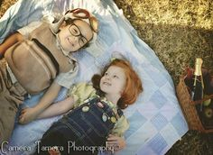 "Ellie & Carl in the ""UP"" themed photo shoot by Camera Tamera Photography"