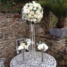Flourish wedding centrepiece to hire devon