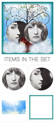 """""""Adam and Eve."""" by m-kints ❤ liked on Polyvore featuring art"""