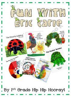 Fun with Eric Carle unit