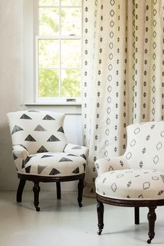 Coral U0026 Tusk Embroidered Linen Fabric   Pinnacle Sequin And Partridge Eye Upholstered  Chairs, Partridge