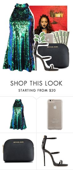 """Sparkle***"" by kfashion757 ❤ liked on Polyvore featuring Case-Mate, MICHAEL Michael Kors and Giuseppe Zanotti"