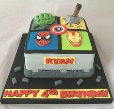 Marvel Avengers Birthday Cake