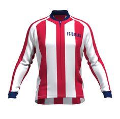 FC Dallas Long Sleeve Cycling Jersey - Free Shipping ! Men s  amp  WOMEN s  - Hidden a3b314bee