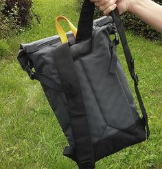 Rolltop backpack Braasi Industry on Behance