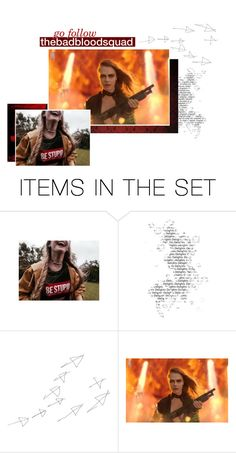 """""""go follow @thebadbloodsquad"""" by magicandmayhem ❤ liked on Polyvore featuring art"""