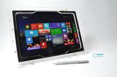 Surface Pro 3  Clear Acrylic VESA Desktop Wall Mount Kit for Kiosk POS Show Disp #Microsoft Surface Pro 3, Vesa Mount, Kit, Clear Acrylic, Microsoft, Wall Mount, Desktop, Ebay, Wall Installation