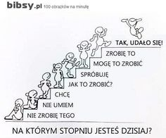 Plakat motywacyjny Learn Polish, Team Motivation, Polish Language, Something To Remember, Self Development, Classroom Management, Kids And Parenting, Motto, Words Quotes