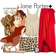 Disney Bound - Jane Porter