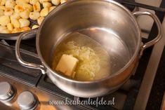 Spruitjes-ovenschotel met kip en champignonsaus - Keuken♥Lie