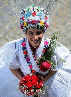 ˙·٠•●♥ Ƹ̵̡Ӝ̵̨̄Ʒ ♥●•٠· Folk, Crown, Traditional, Costumes, Times, Jewelry, Corona, Bijoux, Fancy Dress