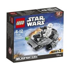 One LEGO Star Wars 75126 First Order Snowspeeder Micro Fighter. First Order Snowspeeder! Add this Star Wars LEGO set to your collection and bring the Micro world to life. X Wing Fighter, Lego Sets, Lego Star Wars, 2018 Christmas Gifts, Fly Guy, Disney, Buy Lego, Boynton Beach, Construction