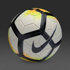 new arrivals 8036f 9f724 Ballon de Football Nike Strike - Blanc Orange Laser Noir Orange Laser