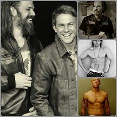 The men of Sons of Anarchy...need I say more as to why i'm addicted to this show?? lol