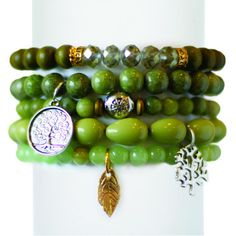 Support Whole Planet Foundation and help alleviate poverty around the world when you purchase this green bracelet set. http://www.chavezforcharity.com/collections/whole-planet-foundation-green/products/olive-tree-set-of-five