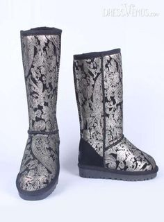 Fabulous High Shaft Large Size Print Leather Boots, #Shoes Zone  #Boots  #MarketPricde $155.00  But now Only #$56.49