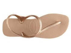 The perfect upgrade to a classic rubber flip flop  - Havaianas Flash Urban Flat Sandal #DSWShoeHookup #PinToWin