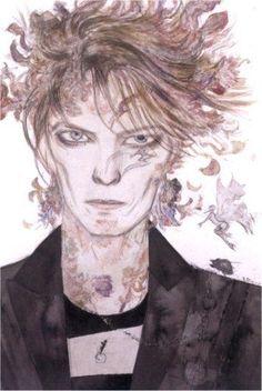 Cuando David Bowie fue inmortalizado por Yoshitaka Amano