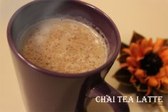 Chai Tea Latte - Starbucks Copycat