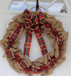 Christmas Wreath, Door Wreath, Winter Wreath, Christmas Decorations, Evergreen wreath, Home Decor, door decoration, Christmas door decor by ritzywreaths on Etsy