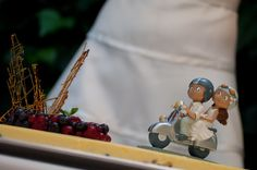 vespa wedding cake topper  Jamie pinned this