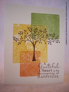 Thanksgiving blocking by storfer - Cards and Paper Crafts at Splitcoaststampers