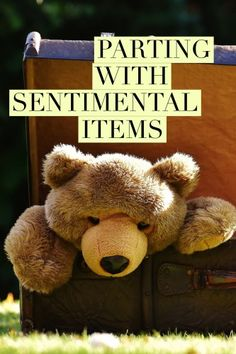 Parting with Sentimental Items.  Tips from Professional Organizer, Nancy Haworth of On Task Organizing in Raleigh, NC