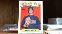 TOPPS 1988 ALL STAR AMERICAN LEAGUE LEADERS FRANK VIOLA CARD#406 TWINS.