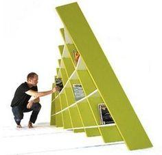 La bibliothèque « Billy's brother » réalisée par le studio suédois ADDI