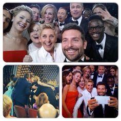 The selfie that broke Twitter. Ellen's Oscar selfie becomes the first to ever break the 1M retweet mark.