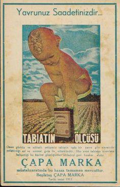 Çapa Marka Çoçuk Maması 1940 Dergi İlanı