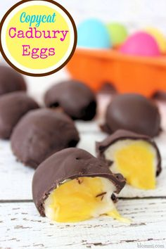 Copycat Cadbury Eggs Recipe