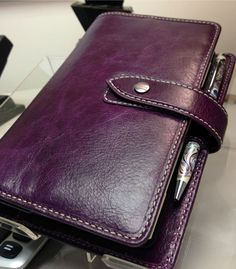 Purple malden filofax Love it