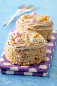 Gâteau nid de Pâques sur www.ferrerorocher.fr