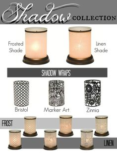 Scentsy Shadow Collection <3 Place Your Order Today at: http://danielawattsxo.scentsy.us Follow Me on FaceBook for new products, sales,  and even FREE samples! at: https://www.facebook.com/danielawattsxoscents