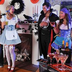 Haunt your halls with Halloween decorating ideas that set the scene for Draculas and Dorothies alike.