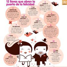 12 llaves que abren la puerta de la felicidad image via www.psicologiapractica.es