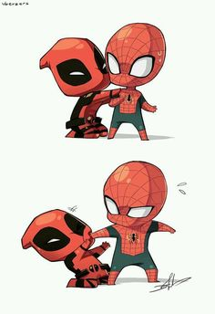 Deadpool  Spidey