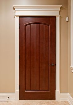 Custom Interior Doors in any style, size or shape. Unique designs, expert craftsmanship, and superior quality hardwoods for supreme customer satisfaction. CUSTOM SOLID WOOD INTERIOR DOORS - Traditional Design Doors by Doors for Builders, Inc. Custom Interior Doors, Door Design Interior, Bedroom Door Design, Bedroom Doors, Wood Entry Doors, Wooden Doors, Sliding Doors, Bedroom Door Decorations, Wooden Front Door Design