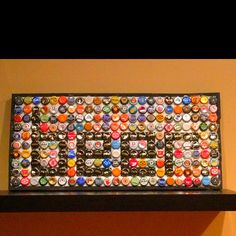 Awesome bottle cap project! Love it!!