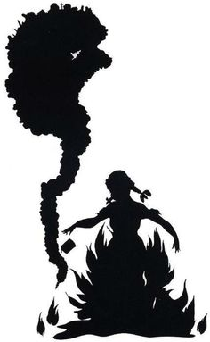 """Kara Walker """"Burn,"""" 1998 Cut paper and adhesive on wall, 92 x 48 inches Collection of Jerry and Katherine Speyer Kara Walker, Walker Art, African American Artist, American Artists, Silhouette Artist, Afro, Film D'animation, Famous Artists, 90s Artists"""