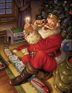 La naissance du père Noël - autour de la magie de Noël, ses personnages, ses traditions, ses légendes..