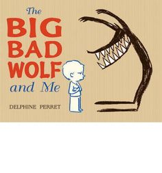 What would happen if a little boy met the Big, Bad Wolf and brought him home?  Instead of being the villain of