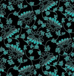 Blue Lace Style Floral Pattern Vector Background - http://www.dawnbrushes.com/blue-lace-style-floral-pattern-vector-background/