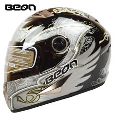 74.51$  Know more - http://aicrv.worlditems.win/all/product.php?id=32580646118 - Brand BEON Full Face Helmet retro Motorcycle Helmets Classic Kart Racing helmet motociclistas capacete ECE Approved B-500 Angel