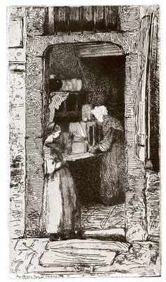 "James Whistler  ""La Marchande de Moutarde""  Art Experience NYC  www.artexperiencenyc.com/social_login/?utm_source=pinterest_medium=pins_content=pinterest_pins_campaign=pinterest_initial"